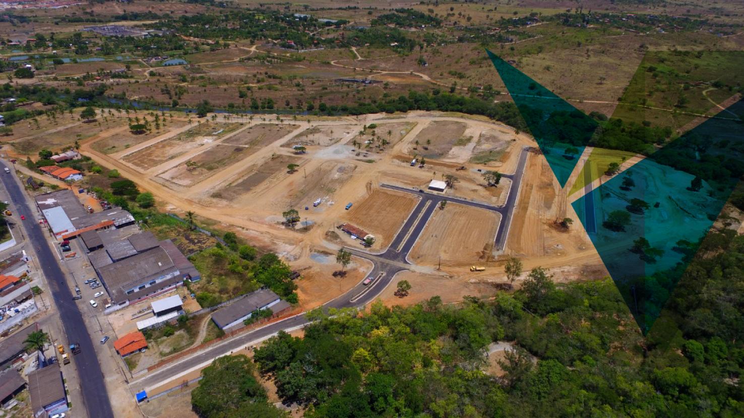 Imagem aérea Via Urbanismo